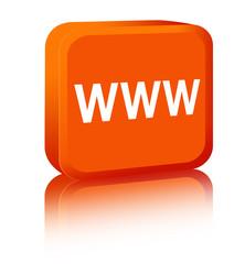 www sign - orange