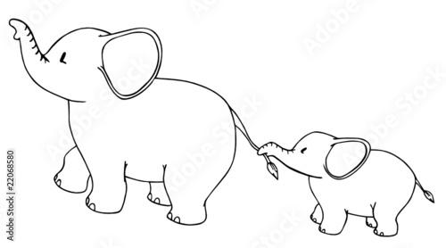 Bild Elefant Gezeichnet