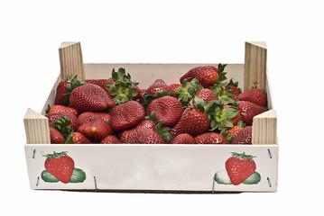 Caja de fresas.