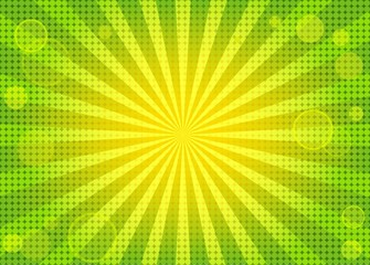 Abstract bright background with rays