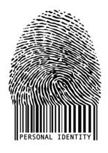 Fingerprint kreskowych, wektor