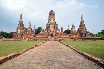 Ancient temple in Thailand, Wat Chaivathanaram