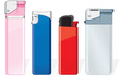 Various vector cigarette lighters