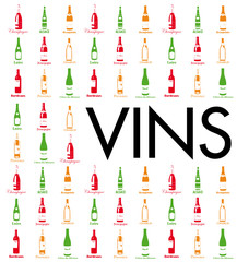 Carte des Vignobles