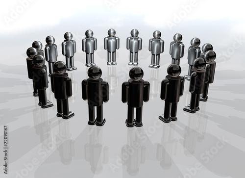 Circle of men