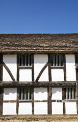 English tudor cottage