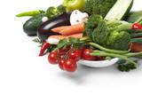 low-calorie vegetables poster