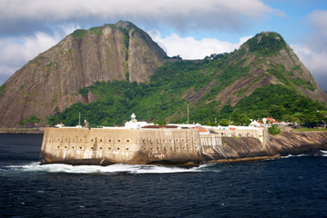 fortification on the guanabara bay entrance