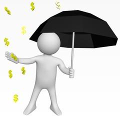 Parapluie - Chute des prix - Dollar