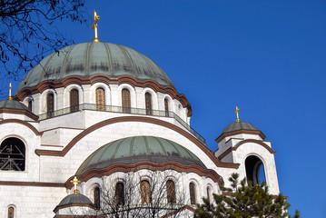 Sveti Sava cathedral in Belgrade