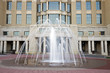 Fountain in front of courthouse in Lexington