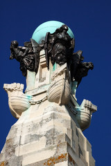 Top of the Portsmouth Naval Memorial, Southsea