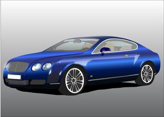 Carro de Luxo Azul