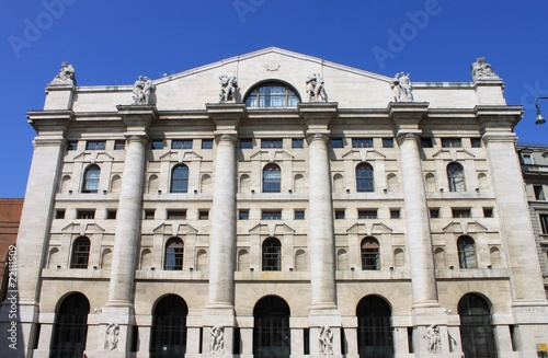 Italian Stock Exchange in Milan