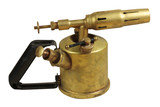 vintage blowlamp poster