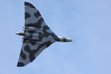 Vulcan Bomber In Flight Leuchars 2009