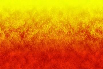 fuego anaranjado