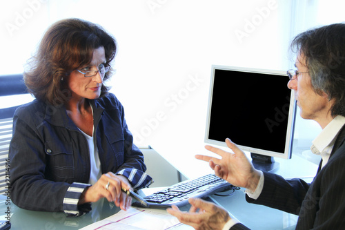 Geschäftsverhandlung