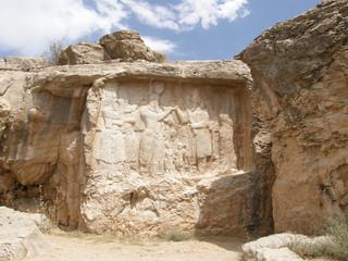 Ahura-Mazda Rock near Shiraz, Iran