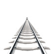 Railway. Detailed vector.