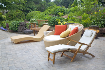Modern Wicker Garden Furniture