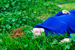 relaxation in grass