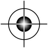 Sniper target scope poster