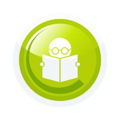 lesen buch symbol zeichen button