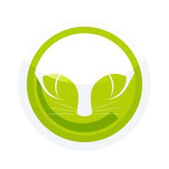 katze symbol zeichen button icon