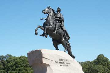 Monument to Peter the Great (The Copper Horseman)