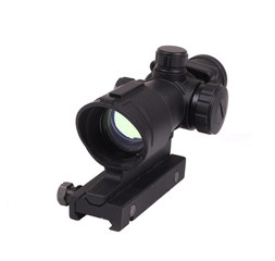 Optical scope. Isolated object