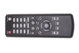 DVD remote control. Isolated object