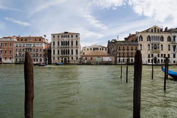 Venedig-  Ausblick auf den Canale Grande