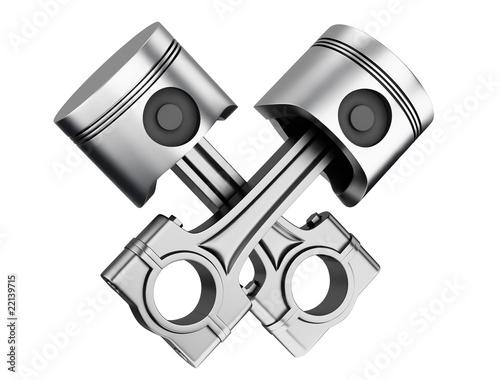 Aluminum supercar pistons