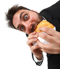 Eat a sandwich
