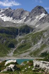 Alpen - Lünersee and Schesaplana