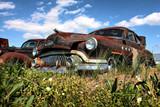 Corroded car Delaware, USA-