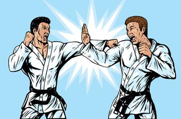 Comic Karate Fighters