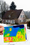 detached house 2 and thermography poster