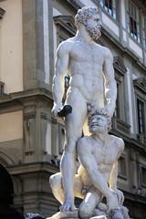 Estatua Hércules y Caco en Florencia