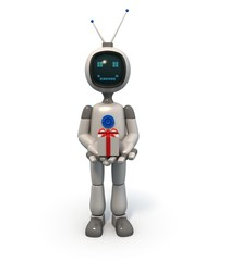 TV Robot with gift box