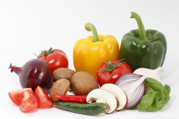 Frisches, knackiges Gemüse