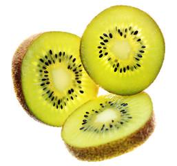 Three Kiwi Fruit Slices