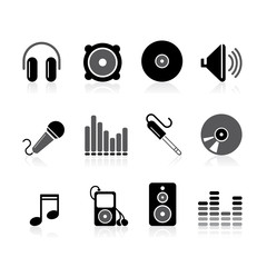 simple audio icons