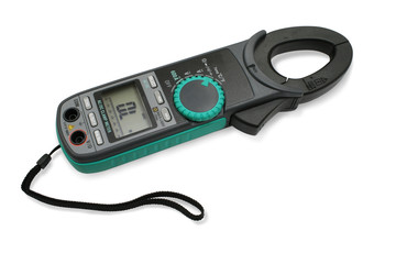 Digital clamp meter.