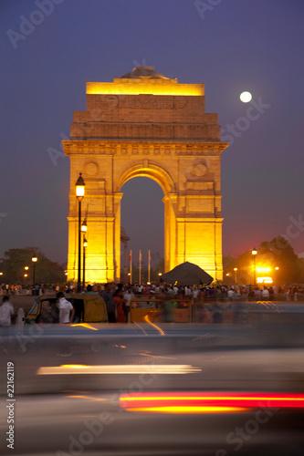 Spoed canvasdoek 2cm dik Delhi India Gate, New Delhi