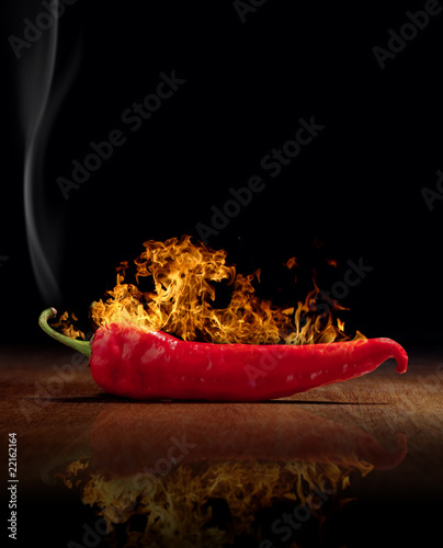 red hot chili pepper burns