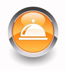 ''Restaurant'' glossy icon