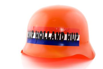 Hat orange supporter