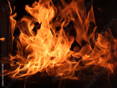 In de dag Vuur / Vlam Flammen